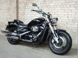 The Suzuki 800 Intruder. Looks fantastic, but the chomework is not as good as you'd think
