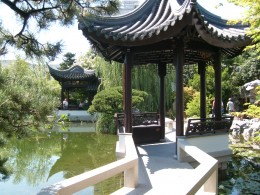 Mid Lake Pavillion at Portland Classical Chinese Garden