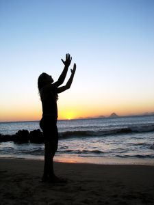 With my hands lifted up  and my heart filled with praise with a heart of thanksgiving  I will bless thee O Lord