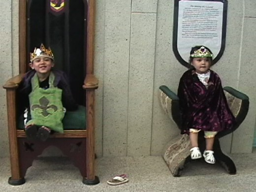 King and Queen Copyright Ruth Elayne Kongaika