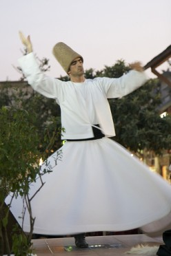 The whirling Dervishes, an introduction to Sufi music