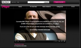 BBc Iplayer when you are abroad