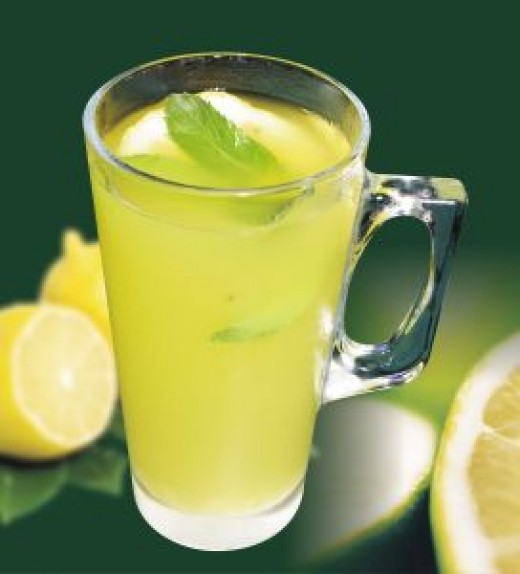 Add A Few Drops Of Food Coloring For A Greener Lemonade Or Make Limeade