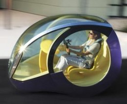 Peugeot Moovie Concept Car. This car has been built, runs, and is demonstrated often at European car shows.