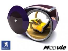 Peugeot Moovie with doors open