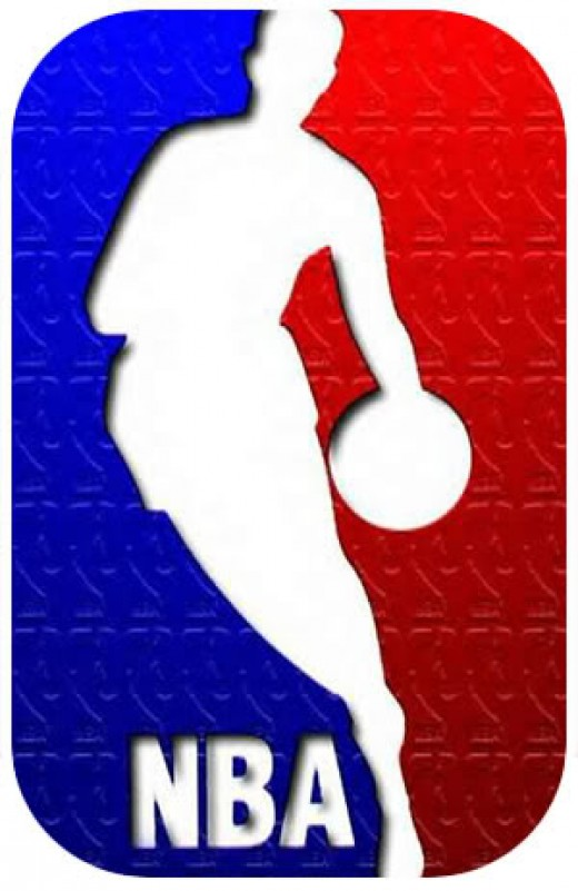The famous NBA logo.