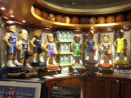 NBA store in New York.