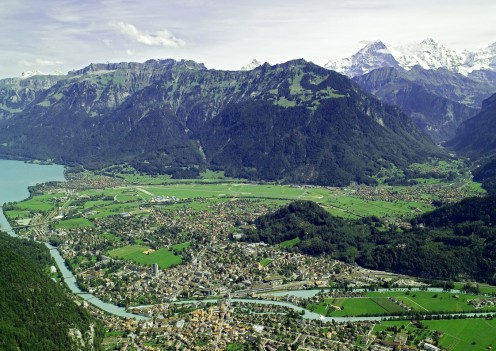 For hotels in Interlaken, check the links (in blue) given at the top of this page.
