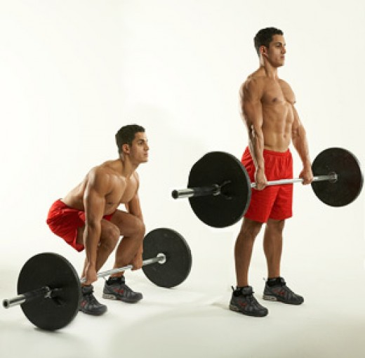 Increase your deadlift weight a little.