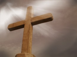 The empty Cross is at the center of Christianity