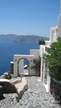 photo,a taken picture while visiting Santorini.