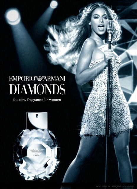 Beyonce for Emporio Armani Diamonds
