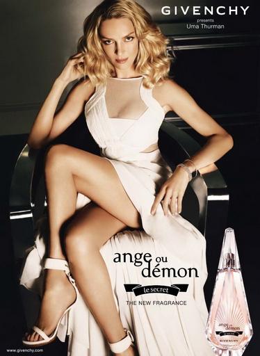 Uma Thurman for Givenchy Ange ou Demon