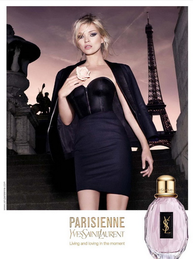 Kate Moss for YSL Parisienne