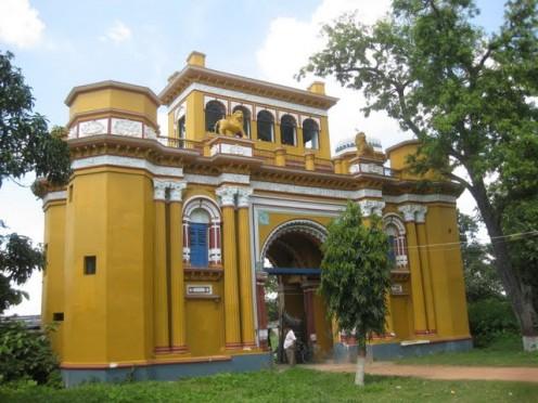 Main gate Katgola Jain Temple          (Inside view)
