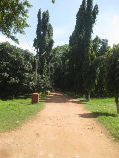 Passage to Katgola temple