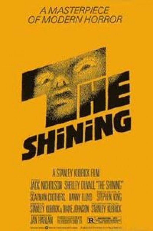 The Shining based on the novel of the same name by Stephen King