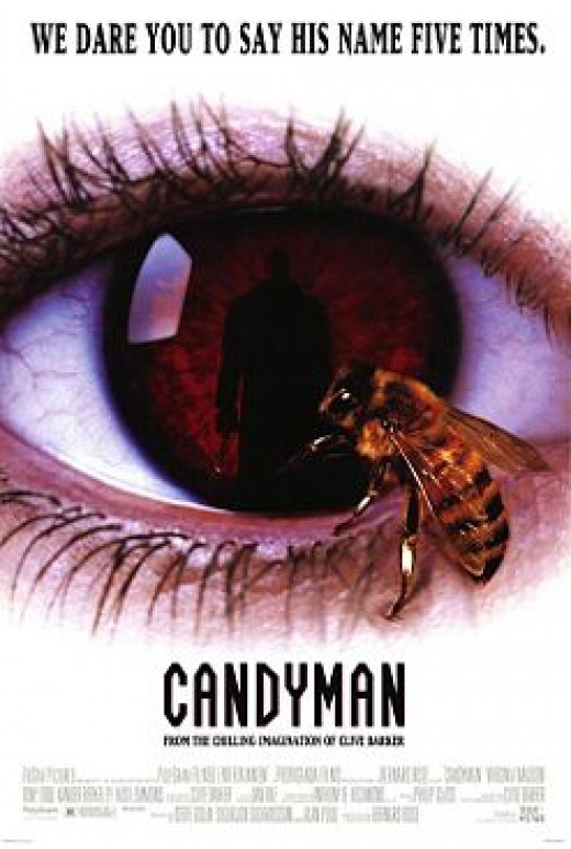 Candyman based on the story Forbidden by Clive Barker. 1992