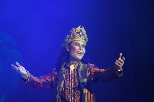 This is Benjie Layos performing as Siddhartha in a musical I partiicpated.