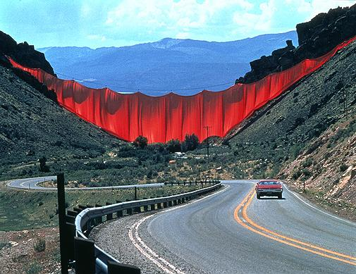 Installation in a Mountain Pass