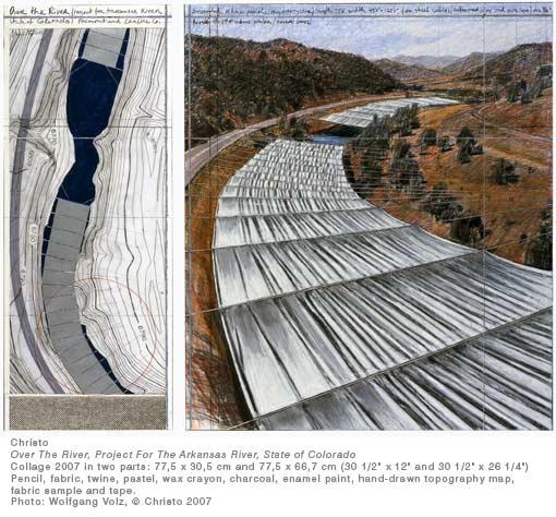Installation on the Arkansas River