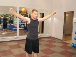 Arms and Shoulders Rotation 1
