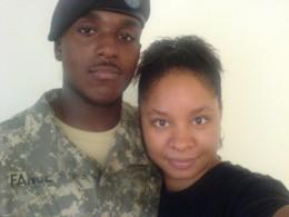 My husband and I.