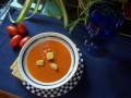 Garden Tomato Basil Soup. Grilled Cheese Sandwich. Tomato Slices With Mozzarella, Parmesan & Olive Oil Recipes.