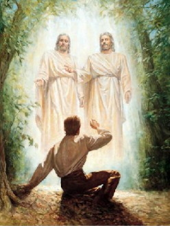 God the Father And His Son - Jesus Christ - Appear To Joseph Smith the boy prophet.