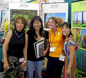 Honolulu Expo with Young Biz Ladies
