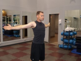 The Chest Stretch Variation