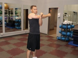 The Arm and Shoulder Stretch