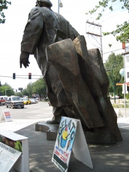 Lenin promoting Gelato
