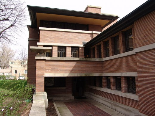 F. Robie House, Chicago