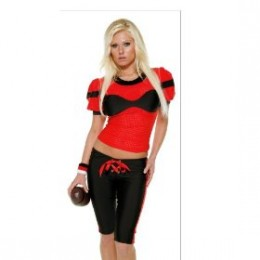 In at number 6 if Football is your game then the touchdown babe costume is ideal for you