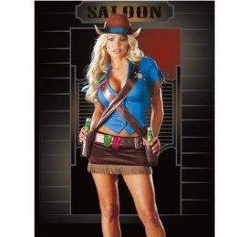 With number 5 on the list you can feel at home on the range with this sexy cowgirl outfit