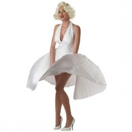 Marylin Monroe movie icon this costume is a timeless classic at number 2