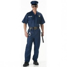 Number 5 is sure to get women hot under the collar, the policemans uniform is an arresting sight.