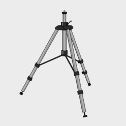 A tripod with interdependent legs is a good choice for astrophotography