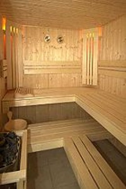 Inside a Home Sauna Kit