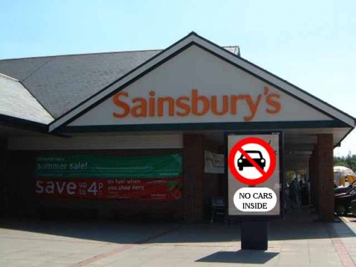 imagine this sign in front of supermarkets...