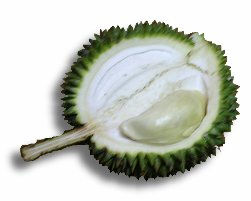 Chaer Phoy (Green Skin Durian)