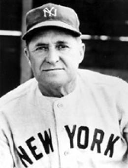 JOE MCCARTHY MANAGER 1932 WORLD CHAMPION NEW YORK YANKEES