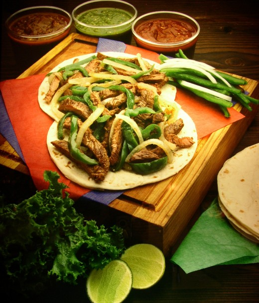 Carne Asada is a Mexican recipe for marinated, grilled beef serves up in tortillas. This is not your Father's Taco. This is a flavorful and delicious meal that is great for any occasion.