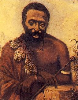King Sarili in a contemporary portrait