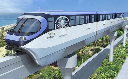 Dubai Metro Train 2