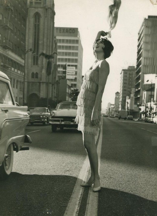 My mother in the 60's