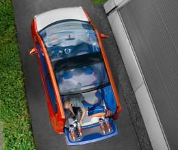 Renault Kangoo BeBop top