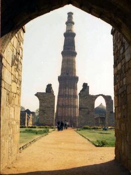 Qutab Minar, Delhi, India