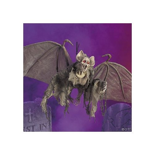 Scary Halloween bat decoration
